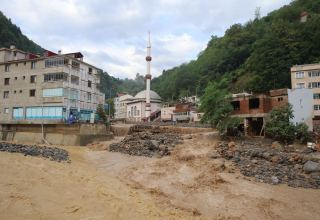 Flash flood kills 4 in northeastern Turkey's Giresun province