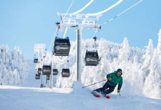 Update on ski resort construction in Uzbekistan