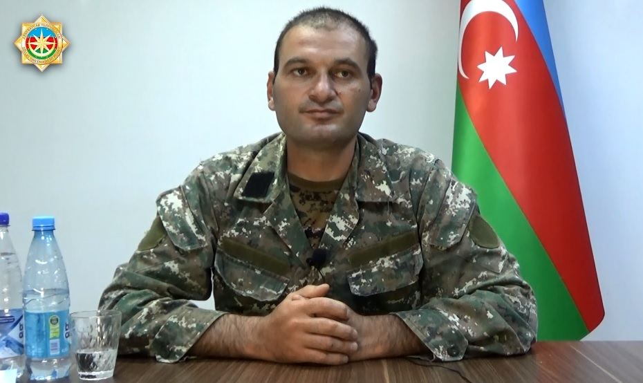Detained Armenian commander talks about attempted provocation in Azerbaijan's Goranboy (VIDEO)