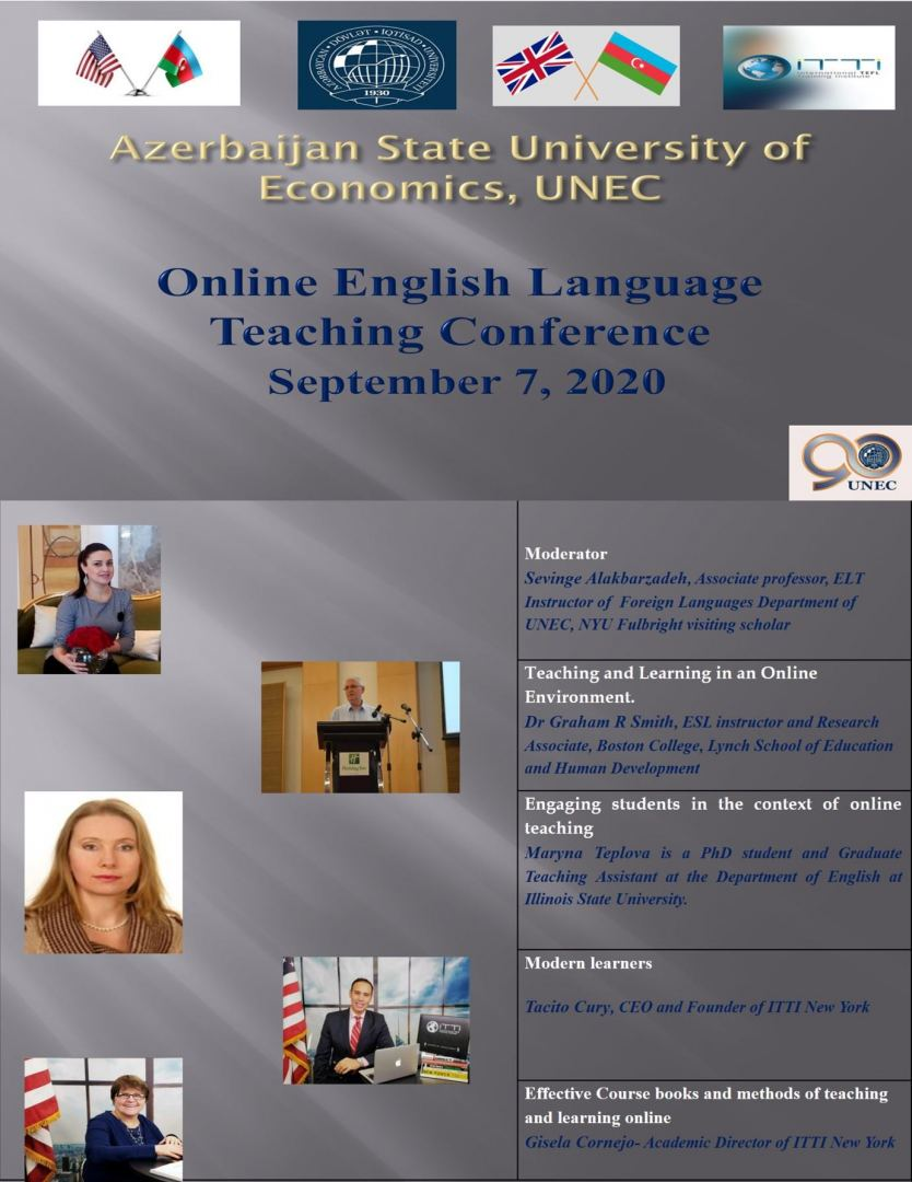 An international conference on distance learning of foreign languages will be held with the participation of US scientists