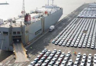 Китай наращивает импорт автомобилей из Турции