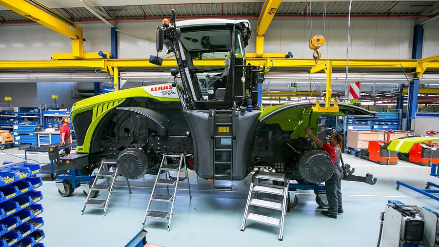 Germany's CLAAS to establish agricultural vehicles manufacturing in Kazakhstan