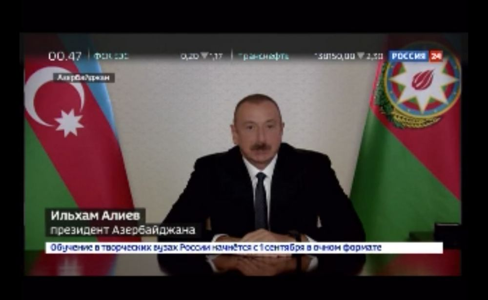President Ilham Aliyev: Azerbaijan has made a worthy contribution to our common victory