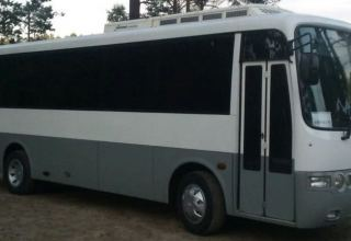Batch of new Hyundai buses delivered to Turkmenistan
