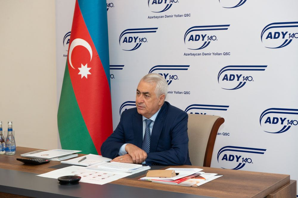 One of world's leading companies discusses 2030 Corporate Strategy of Azerbaijan Railways company (PHOTO) - Gallery Image