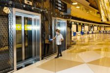Large-scale disinfection carried out at the Heydar Aliyev International Airport (PHOTO) - Gallery Thumbnail