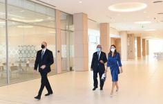 Azerbaijani president, first lady attend opening of two new blocks of ADA University (PHOTO) - Gallery Thumbnail