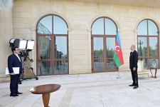 President Ilham Aliyev receives credentials of incoming Iranian ambassador (PHOTO) - Gallery Thumbnail
