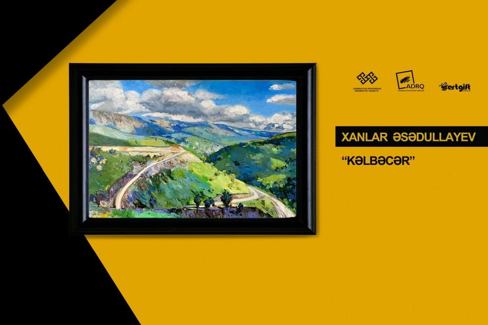 Азербайджанские художники выставили свои работы на продажу (ФОТО) - Gallery Image