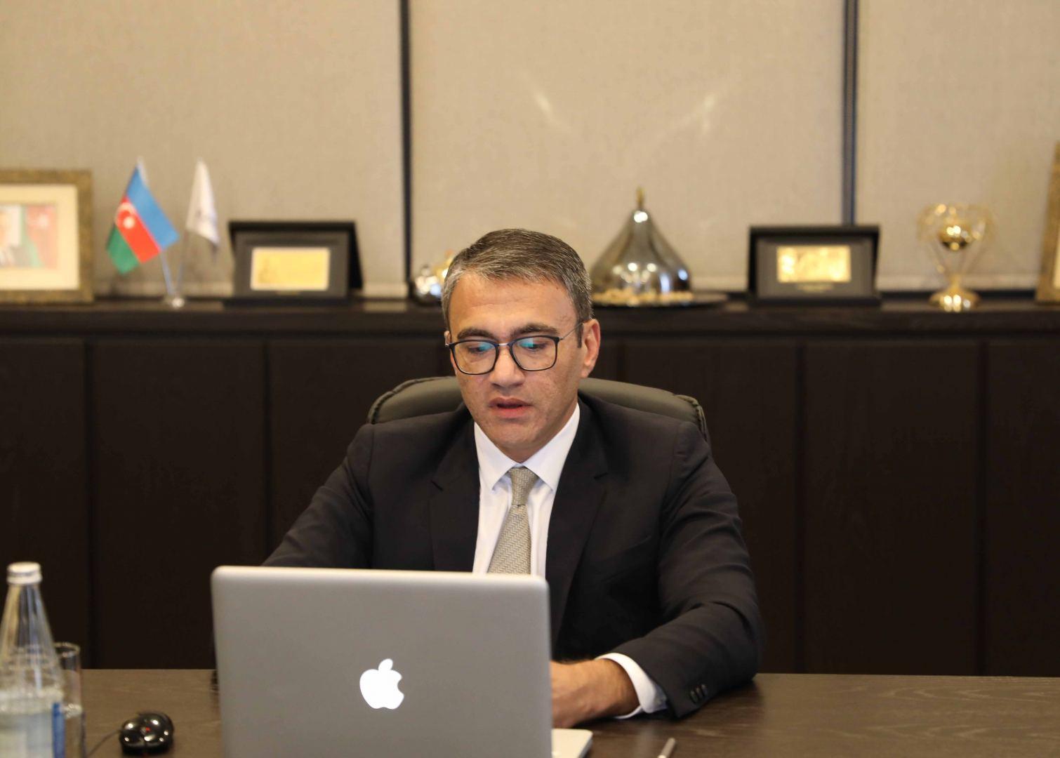 """""""Yüksəliş"""" müsabiqəsi """"AzerGold"""" QSC-nin sədri Zakir İbrahimovun təqdimatında vebinar təşkil edib (FOTO)"""