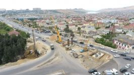 Multi-level road interchange being built in Azerbaijan to eliminate traffic jams (PHOTO) - Gallery Thumbnail