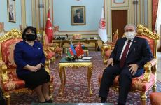 Grand National Assembly chairman: Turkey always close to Azerbaijan (PHOTO) - Gallery Thumbnail