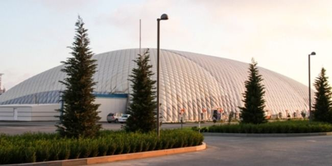 Milli Gimnastika Arenasında köməkçi zal sökülür