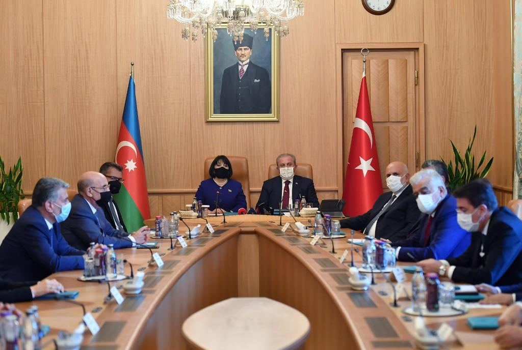 Grand National Assembly chairman: Turkey always close to Azerbaijan (PHOTO) - Gallery Image