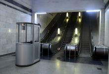 На одной из станций бакинского метро в эксплуатацию введен эскалатор (ФОТО) - Gallery Thumbnail