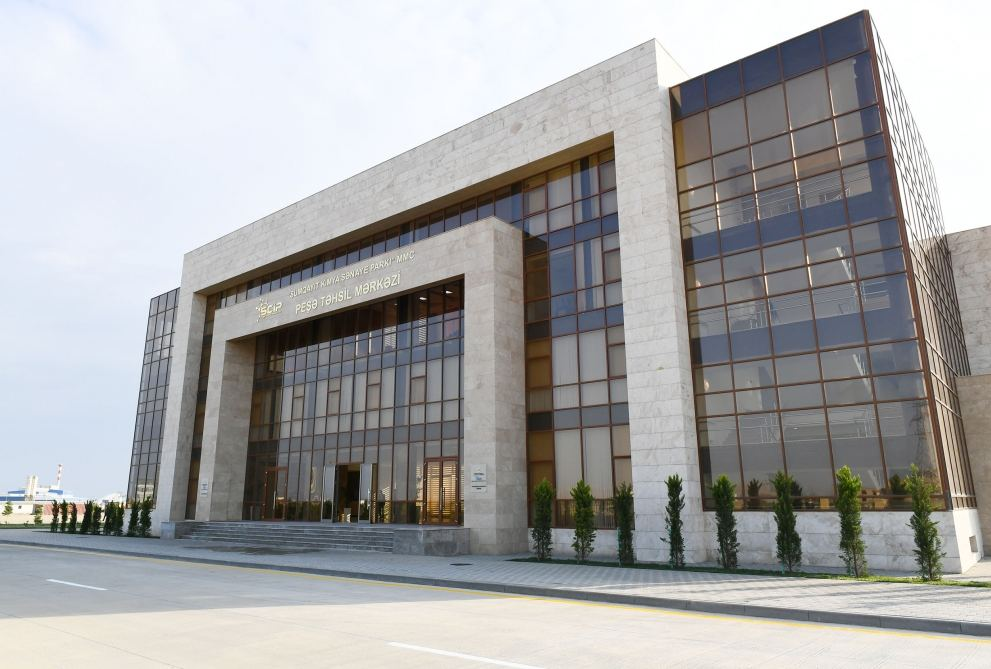 President Ilham Aliyev attends inauguration of Vocational Education Center in Sumgayit