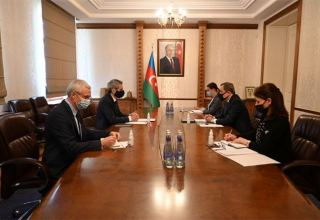 Azerbaijani Foreign Minister holds meeting with Ambassador of France (PHOTO)