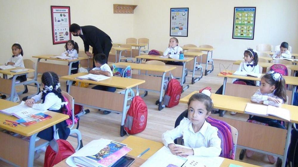 В Товузском, Газахском, Сальянском и Нефтчалинском районах состоялось открытие учебных заведений, построенных и отремонтированных Фондом Гейдара Алиева (ФОТО) - Gallery Image