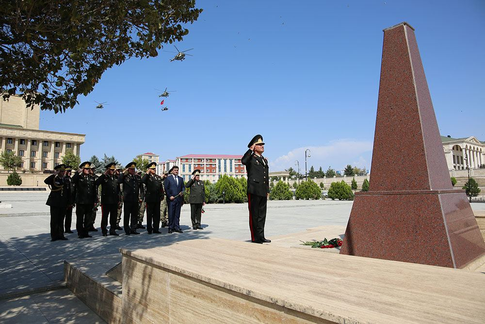 Azerbaijani, Turkish Air Forces make joint flights over Nakhchivan city (PHOTO/VIDEO) - Gallery Image