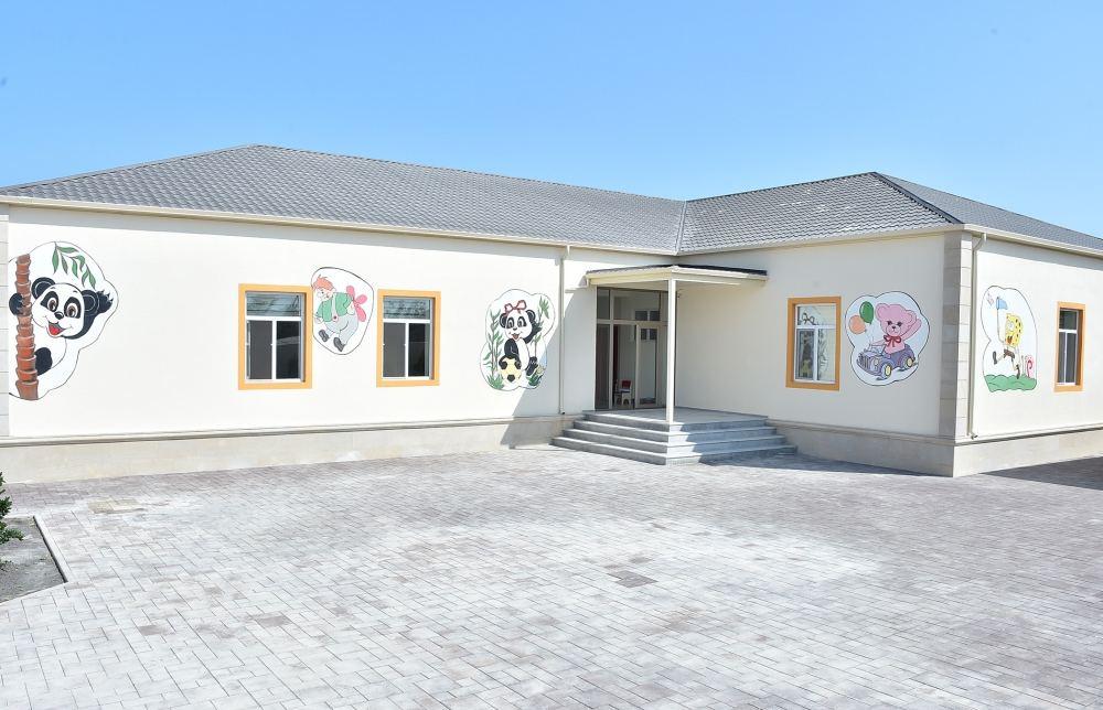 В Хазарском районе Баку состоялось открытие детсадов, построенных Фондом Гейдара Алиева (ФОТО) - Gallery Image