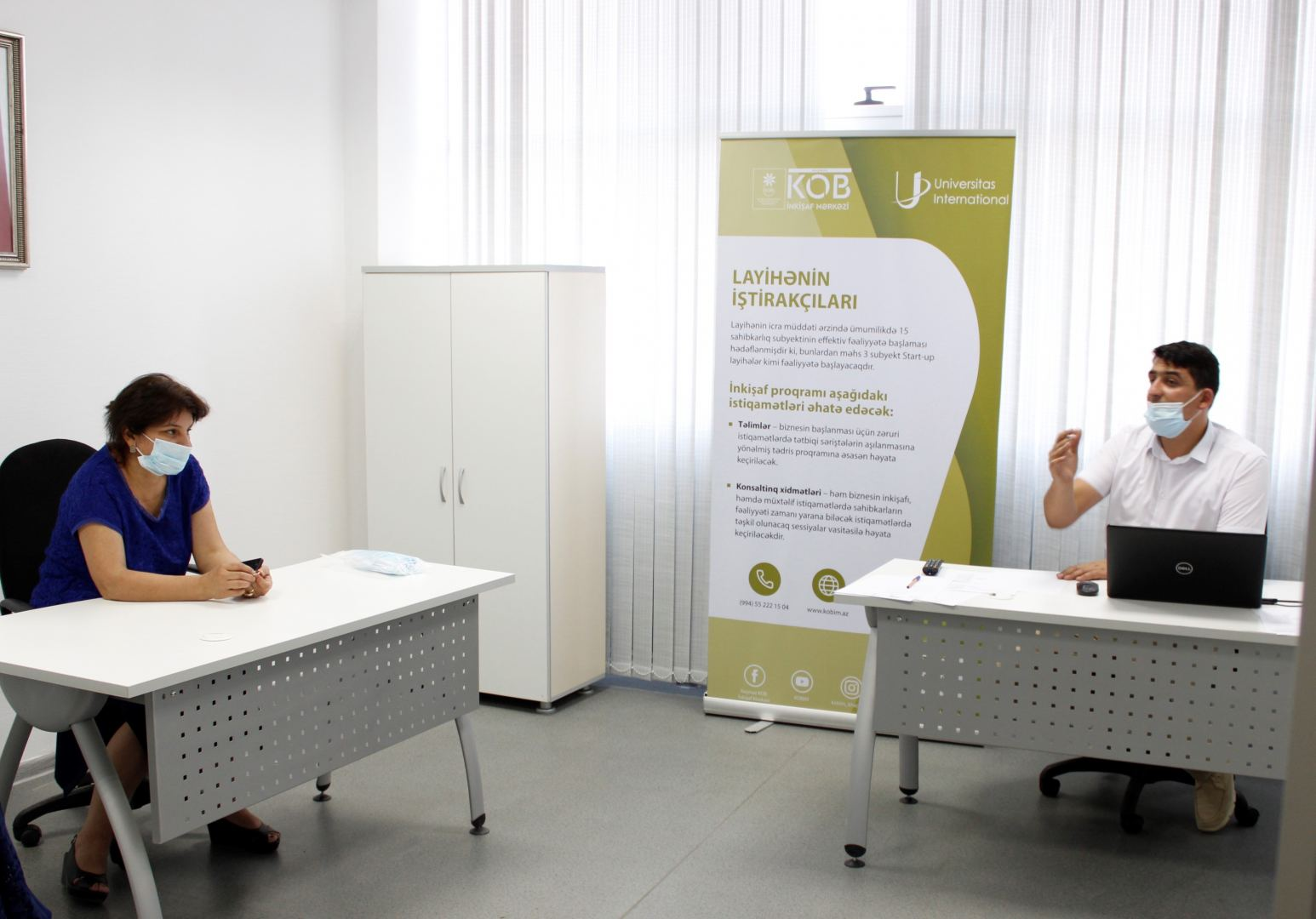 Self-employed SMEs in Azerbaijan provided state support in business planning (PHOTO)