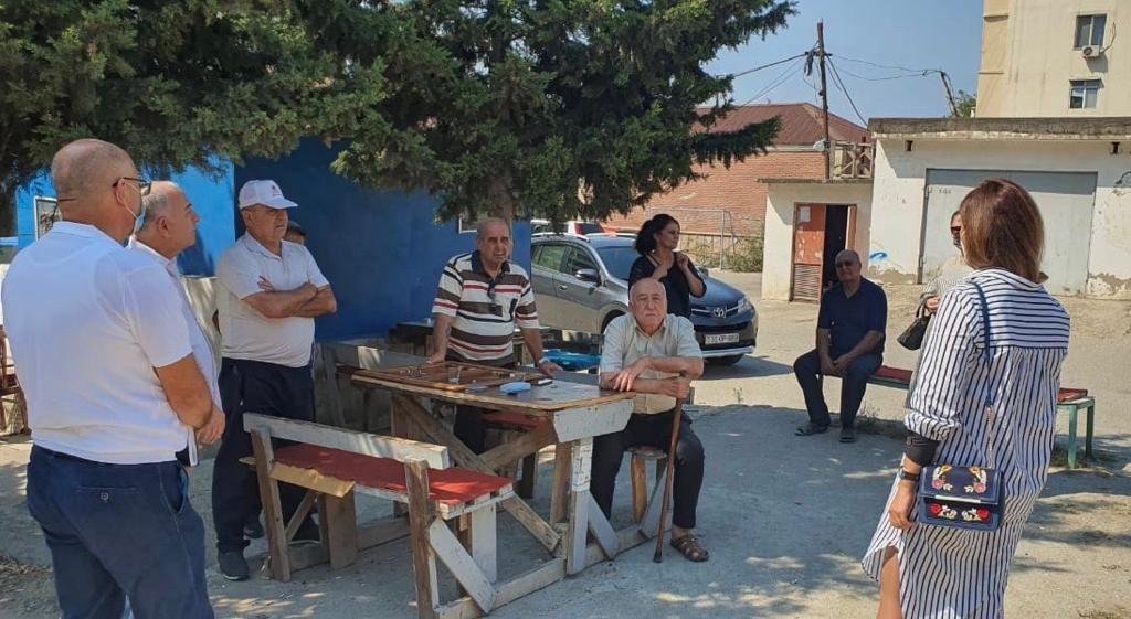 Könül Nurullayeva Nizami rayon sakinləri ilə görüş keçirib (FOTO) - Gallery Image