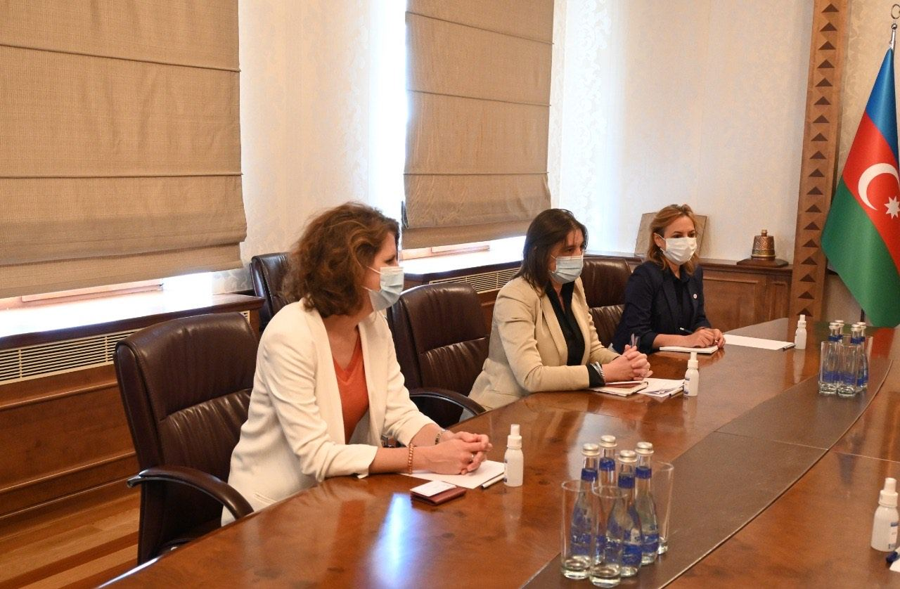 Azerbaijani FM receives head of International Committee of Red Cross Delegation (PHOTO) - Gallery Image