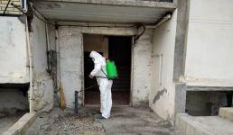 В Гяндже усилены дезинфекционные работы против  COVİD-19 (ФОТО) - Gallery Thumbnail