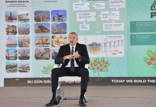 President: If Azerbaijan had been an independent country then, we could have become the richest country in the world