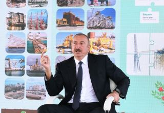 President Ilham Aliyev: The activities of our oil workers serve the interests of the Azerbaijani people
