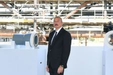 Президент Ильхам Алиев принял участие в церемонии закладки фундамента морских операций на месторождении «Абшерон» (ФОТО/ВИДЕО) - Gallery Thumbnail