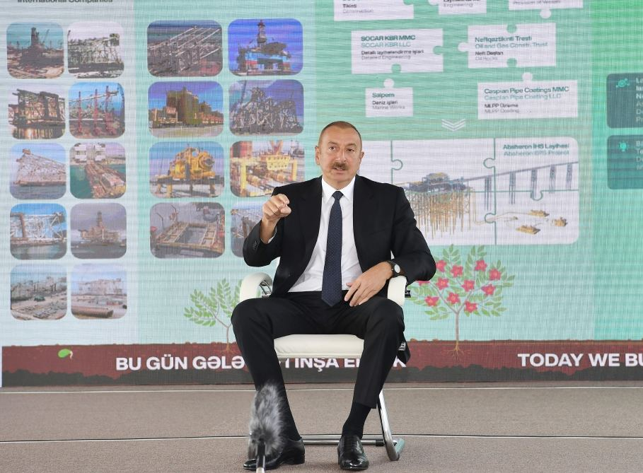 Azerbaijani president: It is crime to bring people to occupied territories and settle them there illegally