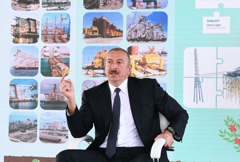 President Ilham Aliyev: Interest in Azerbaijan's oil potential in the world is not decreasing, on the contrary, it is growing