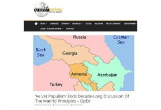 Eurasia Review publishes article on Armenia-Azerbaijan conflict