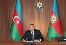 Azerbaijani president, NAM chairman makes speech at high-level meeting to mark 75th anniversary of United Nations in video format (PHOTO) - Gallery Thumbnail
