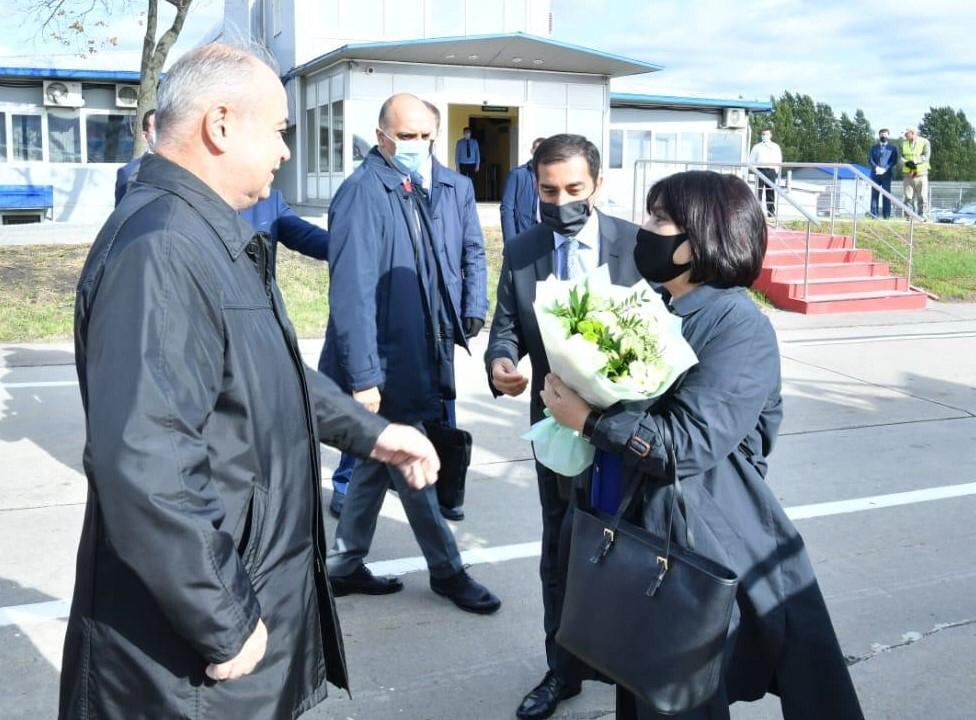 Speaker of Azerbaijan's Parliament arrives in Russia (PHOTO) - Gallery Image