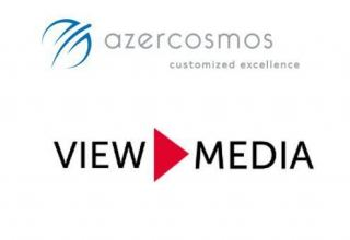 Azercosmos begins cooperation with ViewMedia