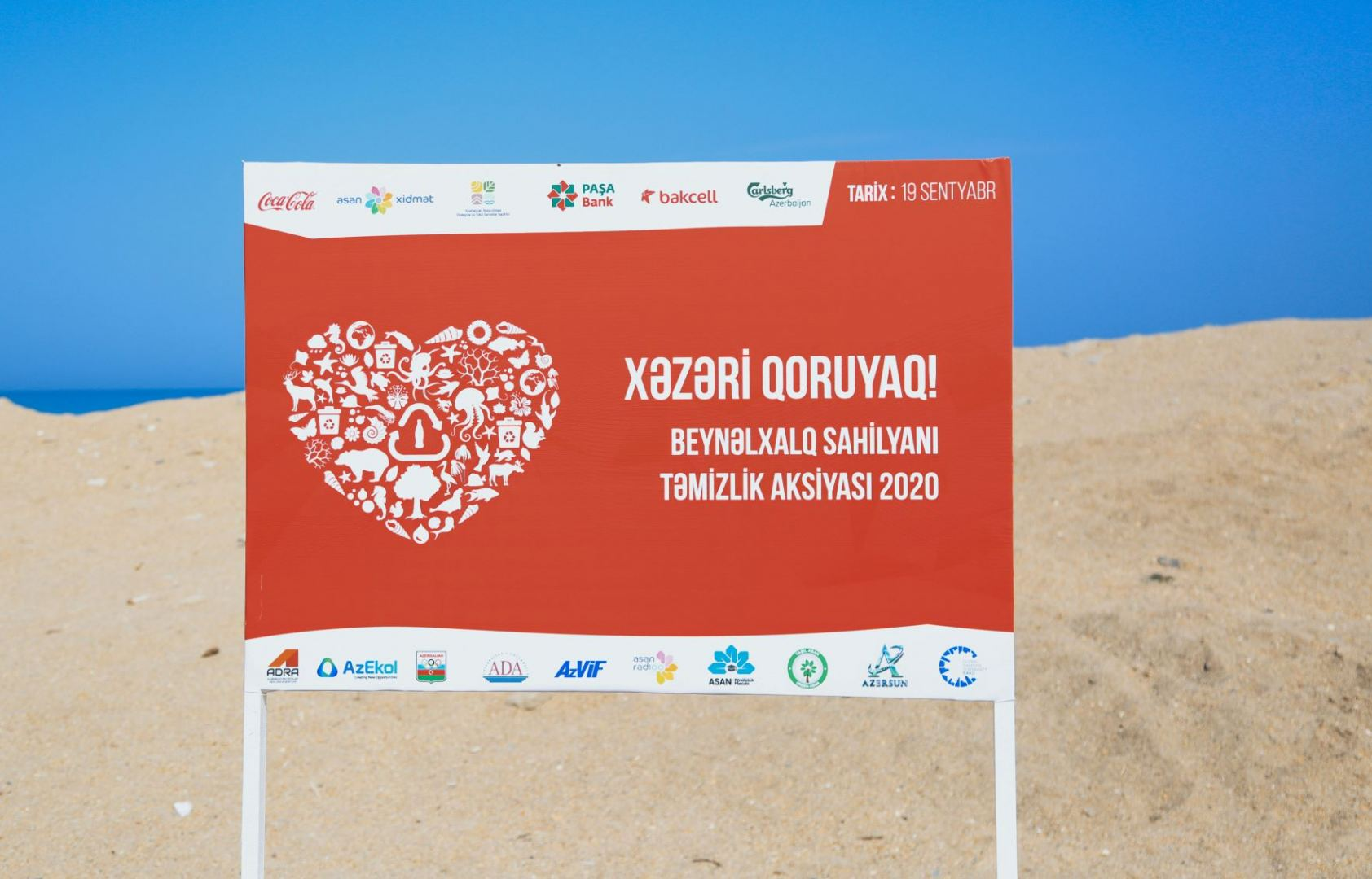 """Protect the Caspian Sea"" with support of Bakcell and its partners (PHOTO) - Gallery Image"