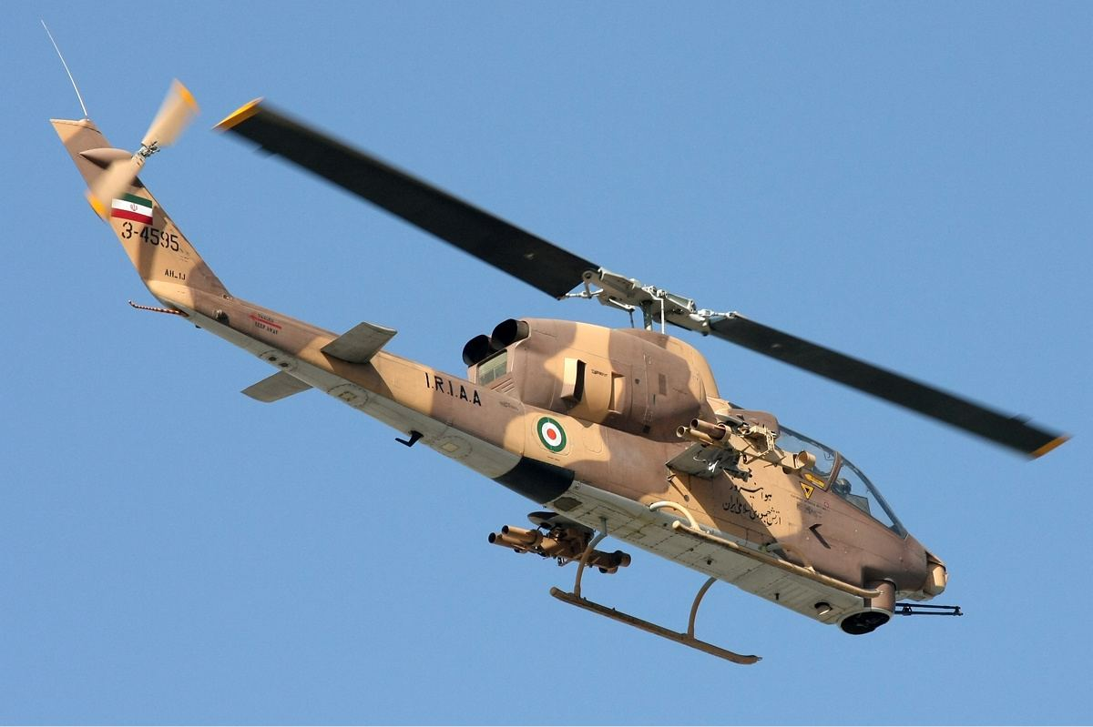 Several UAVs and military helicopters handed over to Iranian Armed Forces