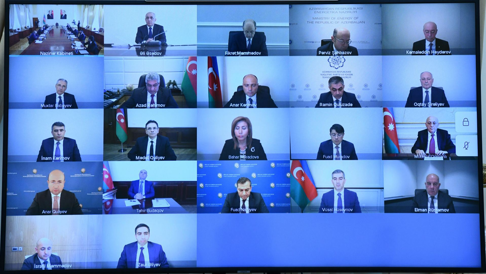 Azerbaijani Cabinet of Ministers discusses budget-related issues (PHOTO) - Gallery Image