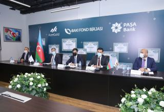 Baku Stock Exchange holds meeting on issuance of AzerGold's bonds (PHOTO)