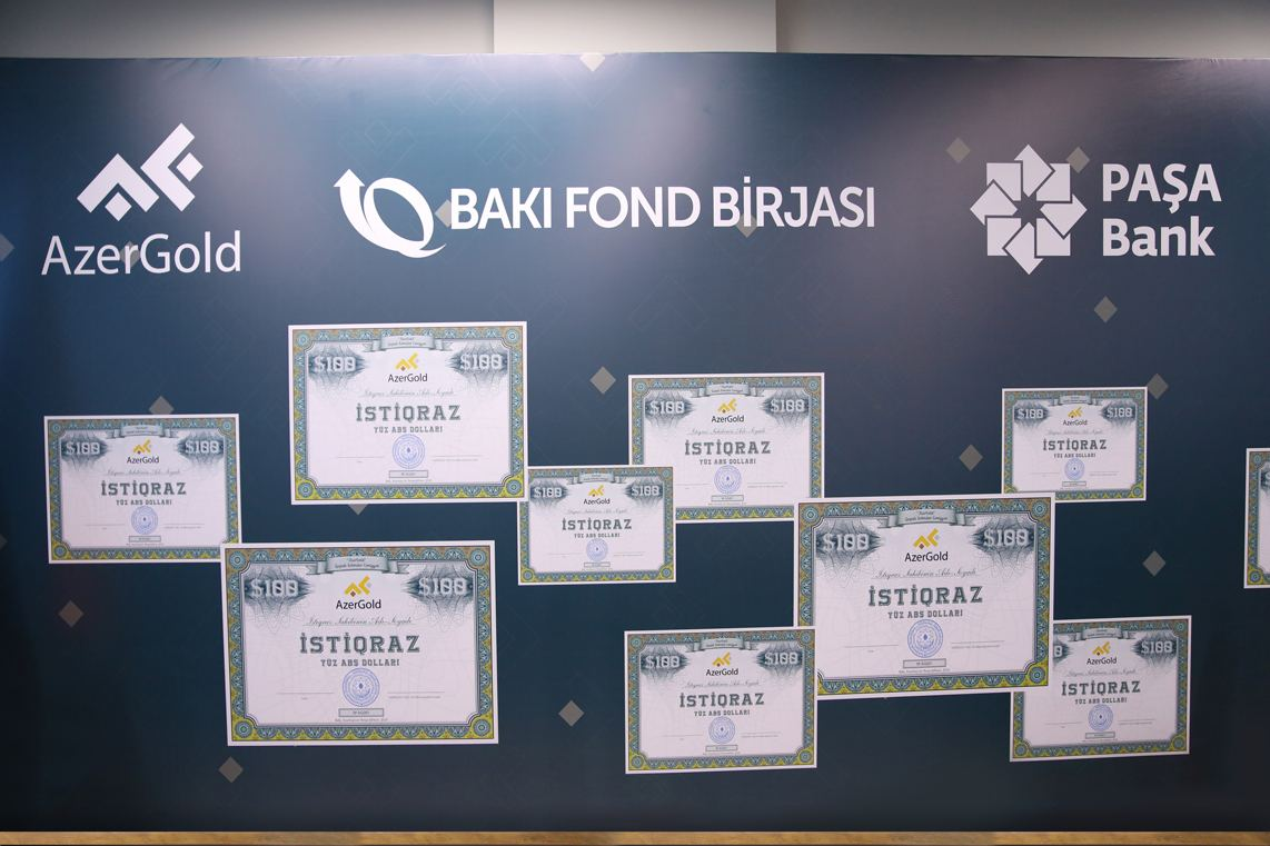 Baku Stock Exchange holds meeting on issuance of AzerGold's bonds (PHOTO) - Gallery Image