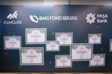 Baku Stock Exchange holds meeting on issuance of AzerGold's bonds (PHOTO) - Gallery Thumbnail
