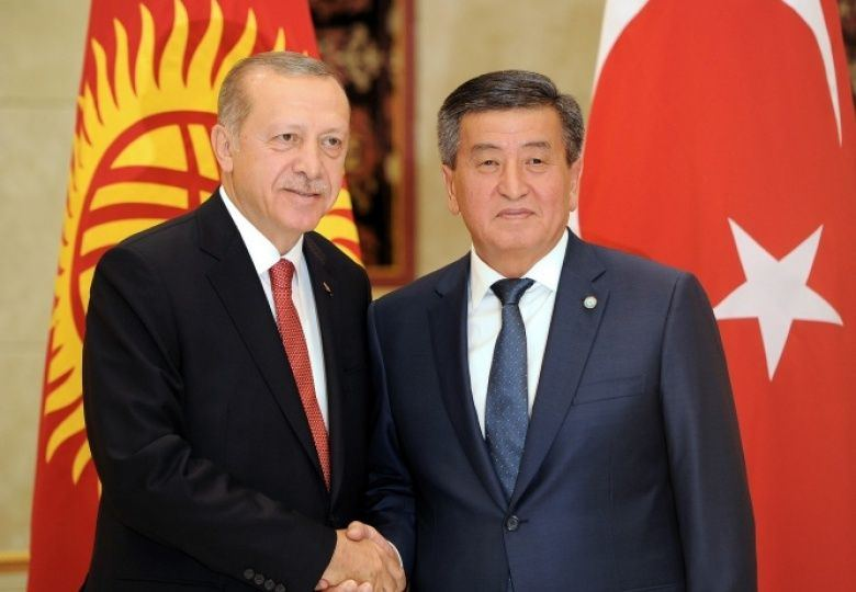 Presidents of Kyrgyzstan, Turkey discuss topical co-op issues in call