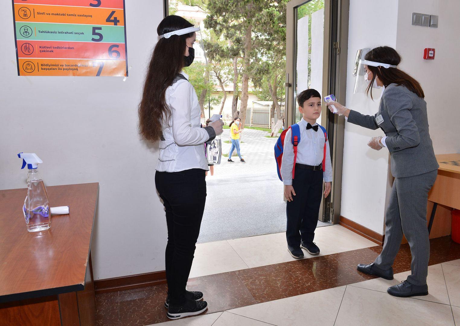 Лица с температурой тела выше 37 градусов в школы пропускаться не будут - минобразования Азербайджана