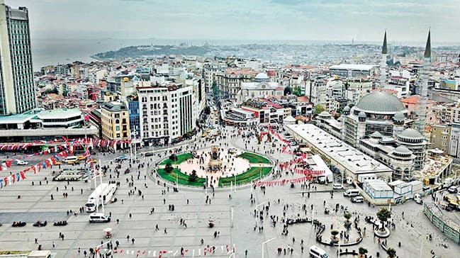 Istanbulites to vote for new planning of historical Taksim Square