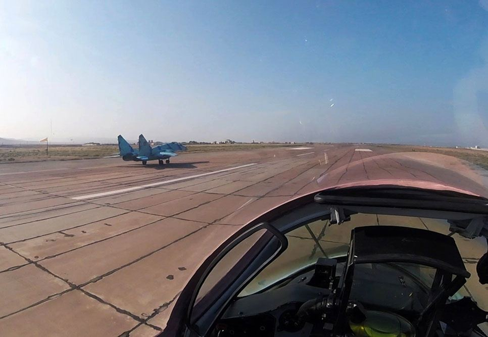 Azerbaijani Air Forces conduct combat-training flights (PHOTO/VIDEO) - Gallery Image