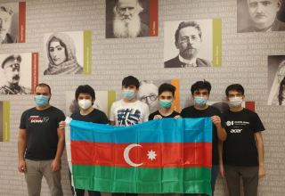 Azerbaijani schoolchildren perform successfully at 32nd International Olympiad in Informatics (PHOTO)