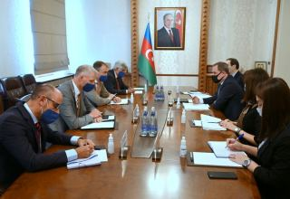Azerbaijan's FM meets with EU Special Representative for South Caucasus (PHOTO)