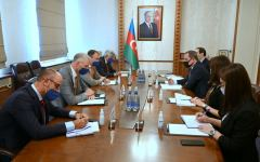 Azerbaijan's FM meets with EU Special Representative for South Caucasus (PHOTO) - Gallery Thumbnail